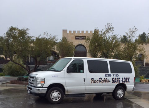 wineries, tasting rooms, vineyards and all commercial businesses need and utilize Paso Robles safe and Lock. Paso robles safe and lock offers mobile service to your business or home! Ph: (805) 238-7115. We are located at 1424 Spring Street, Paso Robles, CA 93446