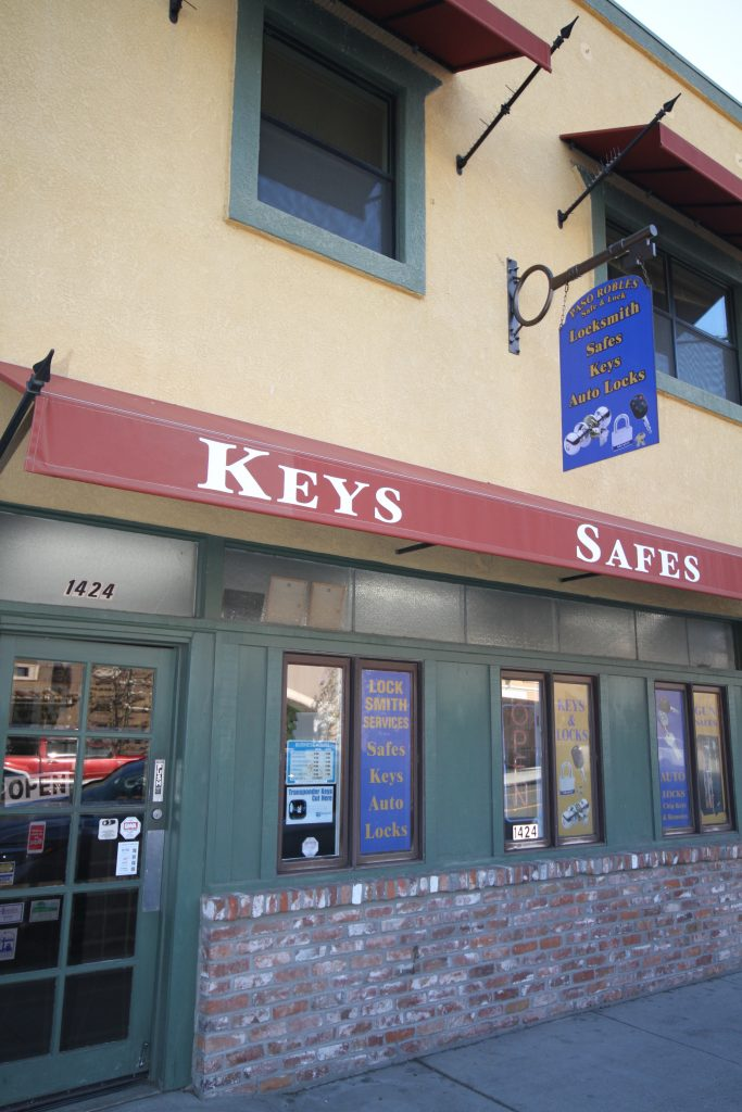 Paso Robles Safe and Lock is your full service Locksmith, home, business and gun safe provider and so mucgh more! Ph: (805) 238-7115. We are located at 1424 Spring Street, Paso Robles, CA 93446