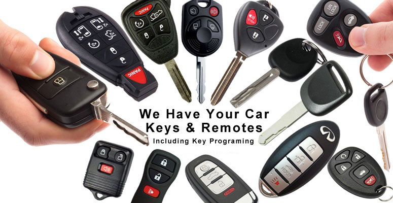 Vehicle lockout response. We make keys by key code or key impression while you wait.