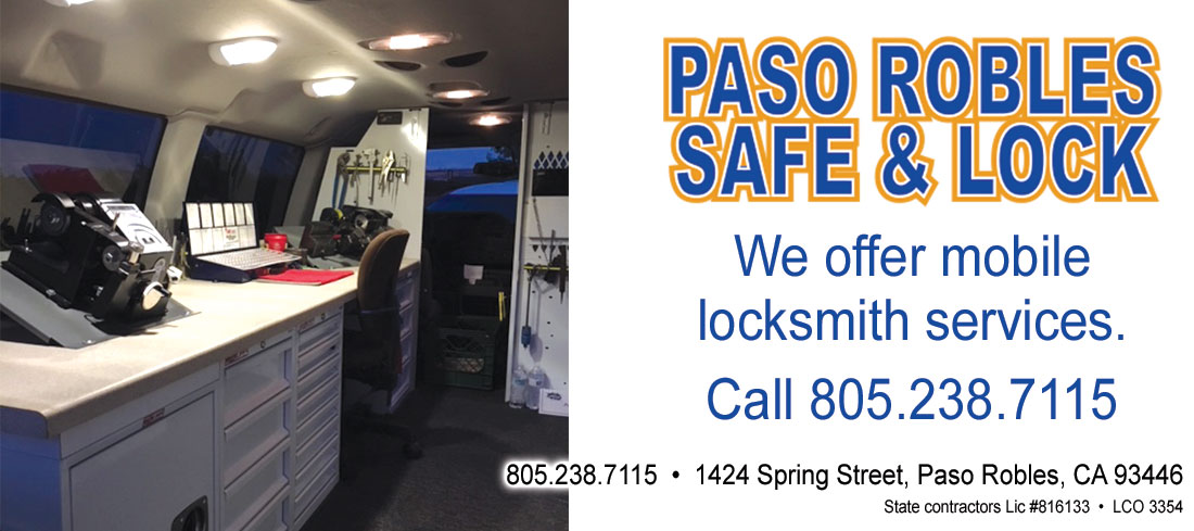 San Luis Obispo Locksmith And Paso Robles Locksmith