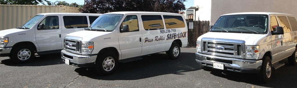Mobile paso roble locksmith services in Paso Robles, Atascadero, San Luis Obispo and Arroyo Grande